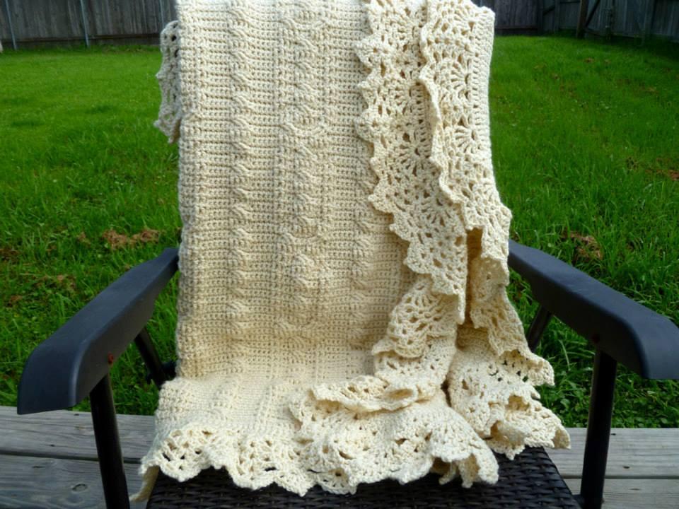 The Crochet Cabana Blog: Celtic Afghan