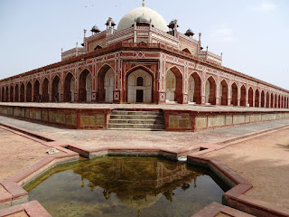 view of Humayun's Tomb, Delhi