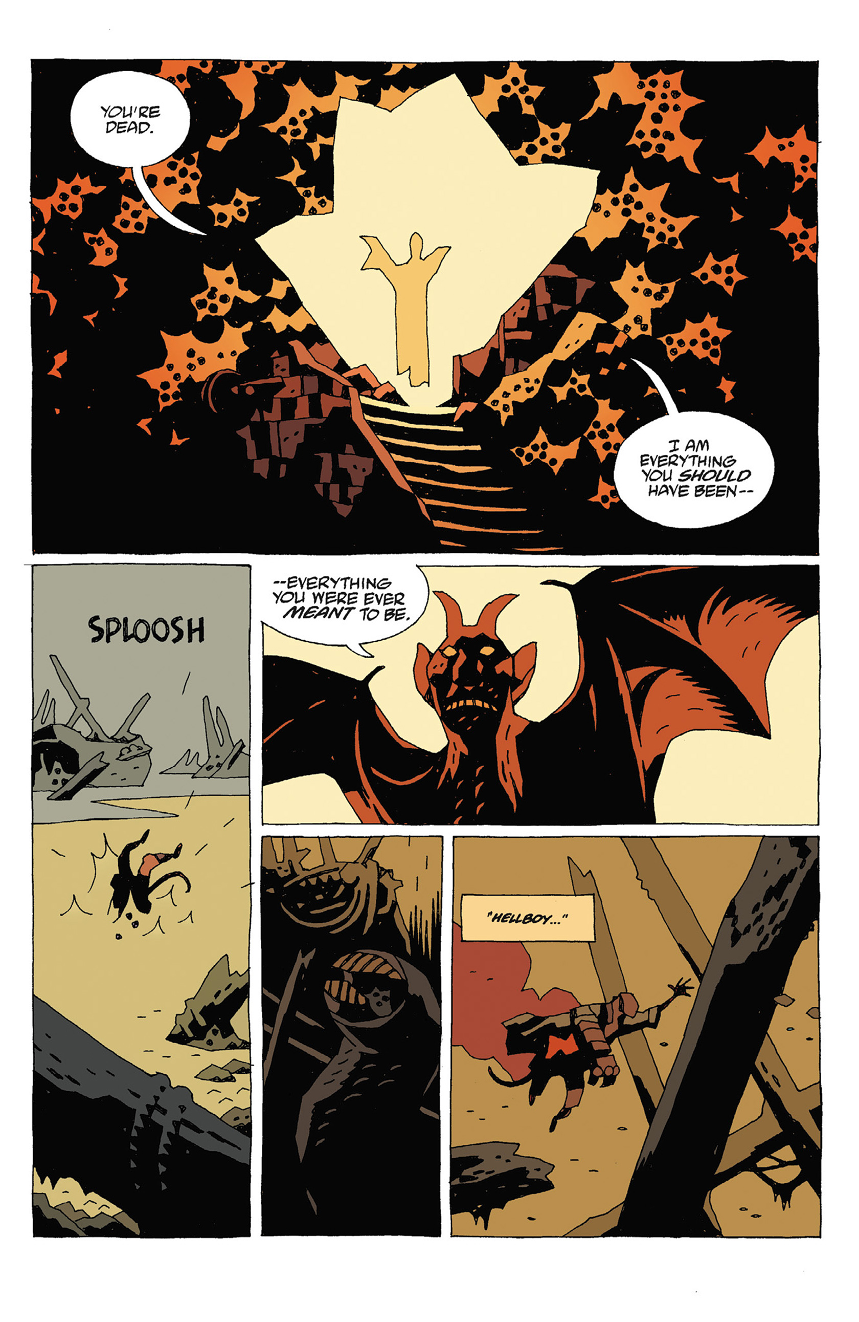 Read online Hellboy: Strange Places comic -  Issue # TPB - 119