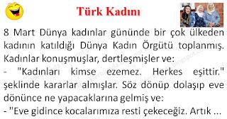 Türk Kadını - Karışık Fıkralar - Komikler Burada