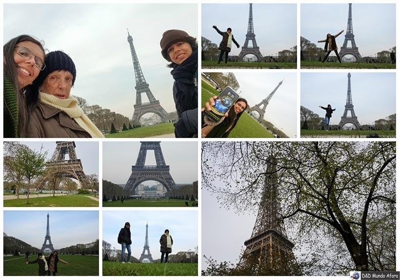 Torre Eiffel - Diário de Bordo - 3 dias em Paris
