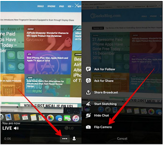 Cara Membuat Live Video Streaming dari Twitter di iPhone dan iPad
