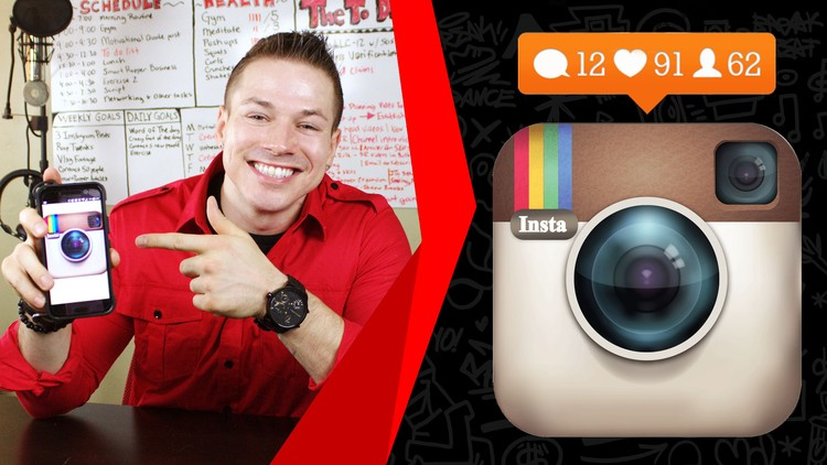 How I Got Famous On Instagram In Just A Few Months - Udemy Course