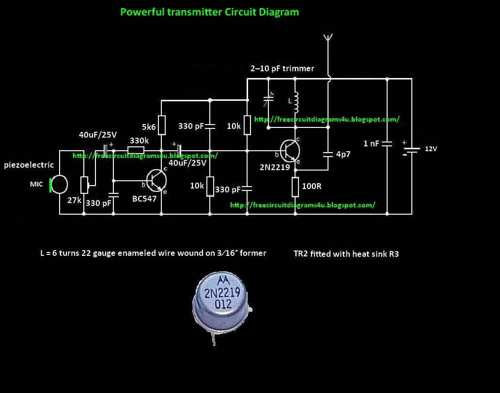 Usb Fm Transmitter Max2606 High Power Circuit Diagram Trusted Wiring Free Diagrams 4u Powerful Simple