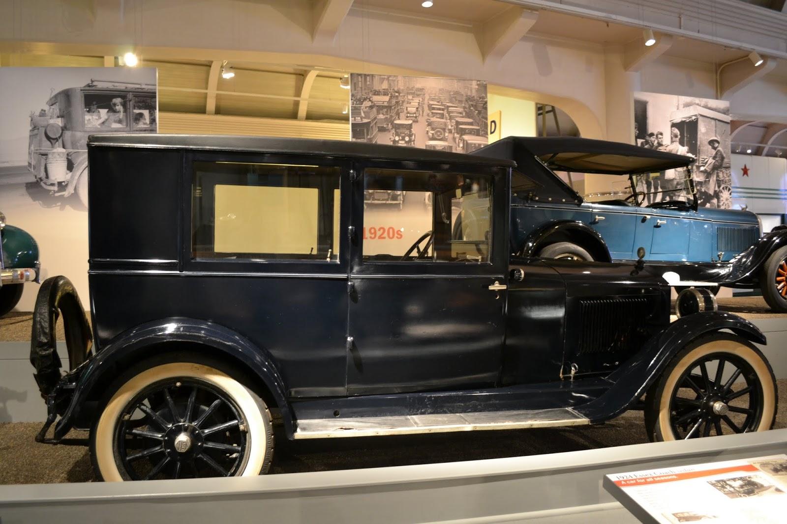 Essex Coach, 1924 года. Музей Генри Форда. Дирборн, Мичиган (Henry Ford Museum, Dearborn, MI)