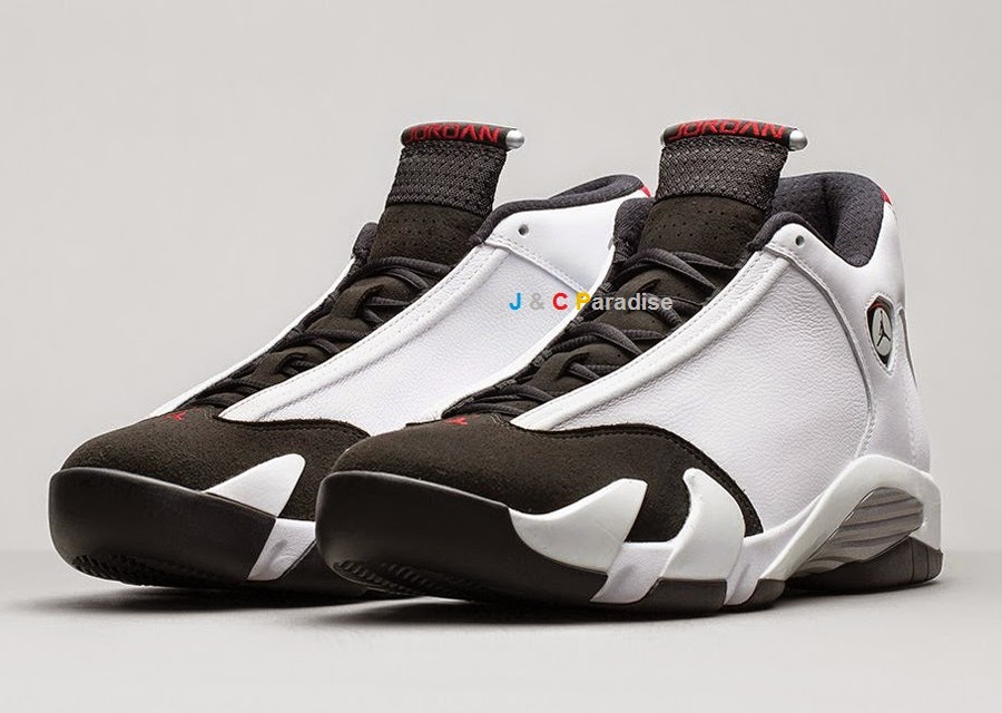 pretty nice 74ff4 c35db Nike Air Jordan 14 Retro Black Toe