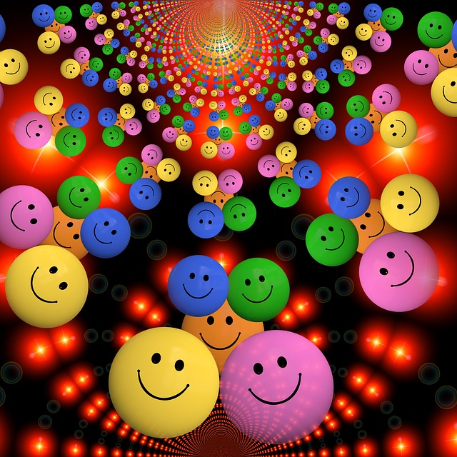 Smiley Laugh Funny Cheerful Colorful Color