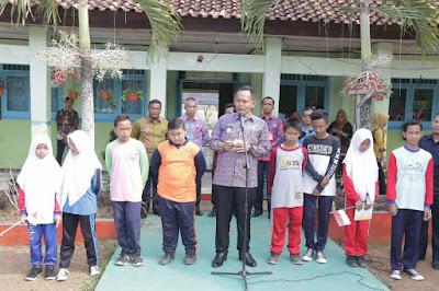 Wabup Pringsewu Canangkan Outdoor Classroom Day di SMPN 3 Gading Rejo