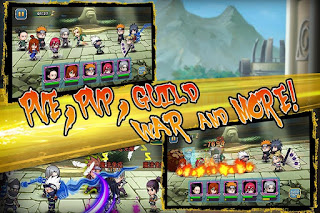 Shinobi War v 1.2.2 Apk Data Obb