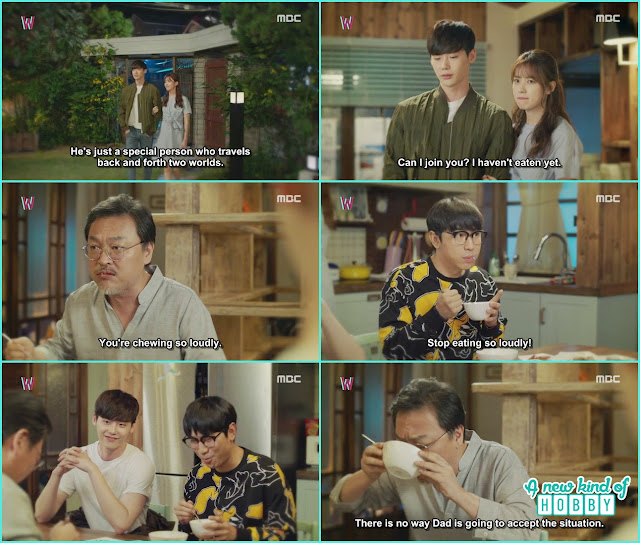 yeon joo take Kang chul to meet with her father but her father didn't accept her - W - Episode 13 Review - The Hypothesis & Unexpected Twist