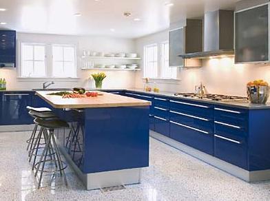Oren Kabinet Tips Gemilang Warna Di Dapur