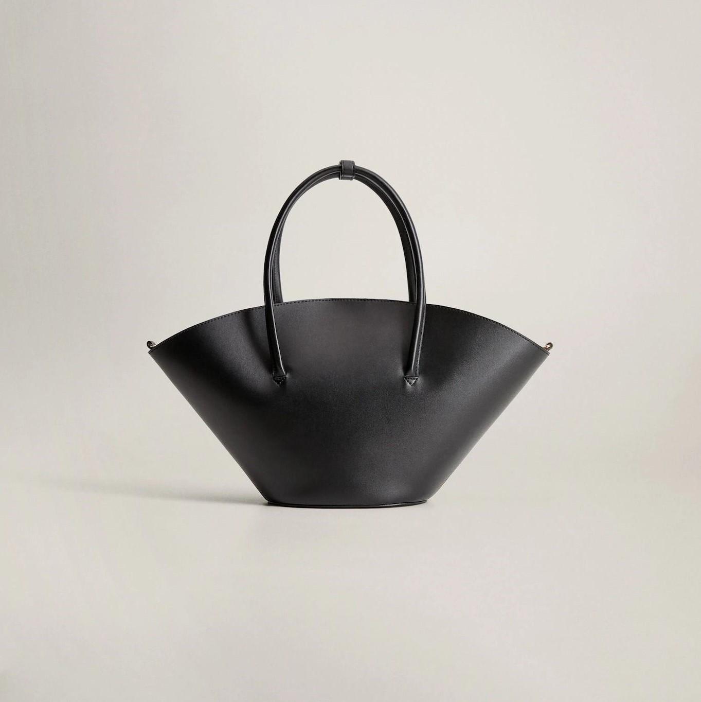 double strap basket bag
