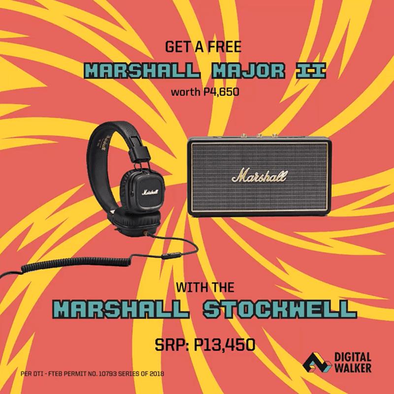Digital Walker's first Marshall bundle