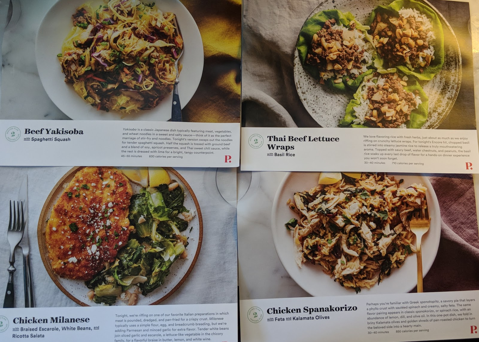 Menu plan monday plated week 2 plated menu cards beef yakisoba thai beef lettuce wraps chicken milanese chicken forumfinder Gallery