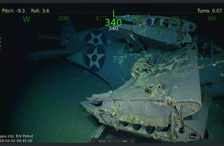 American Mishima: USS Lexington Wreck Found!