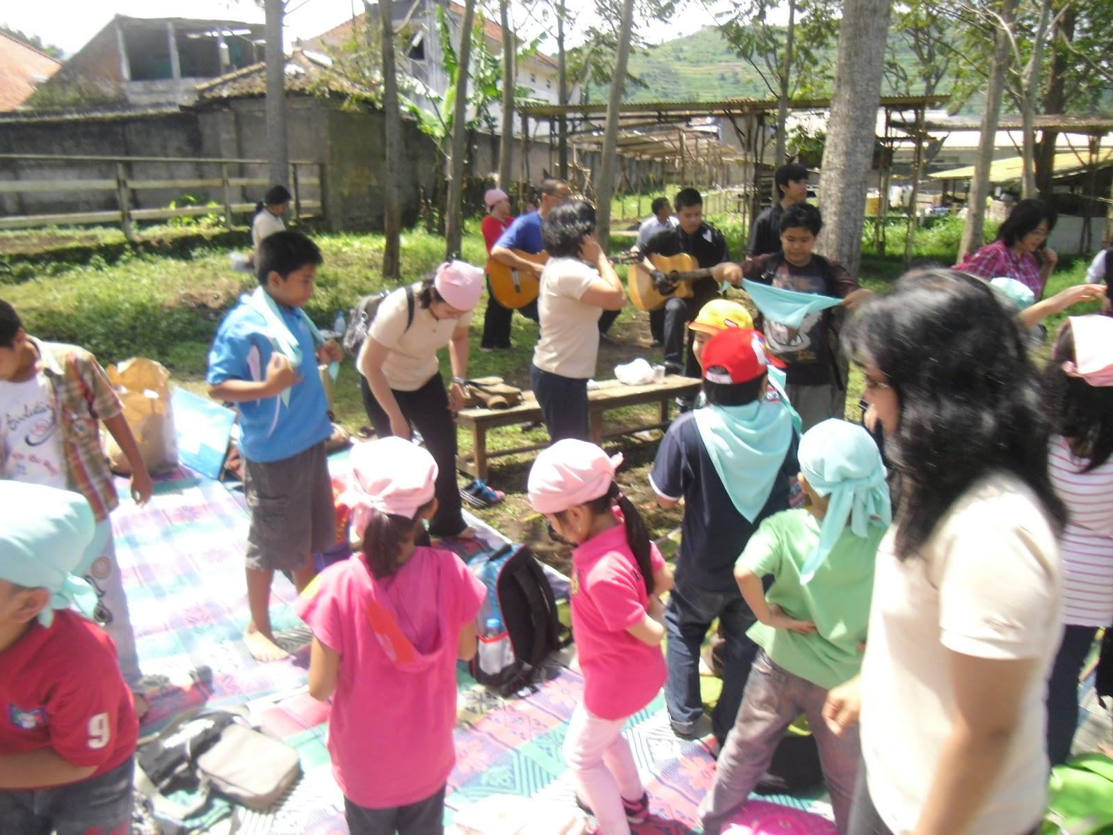 Sunday School Perayaan Paskah Di De Ranch Lembang