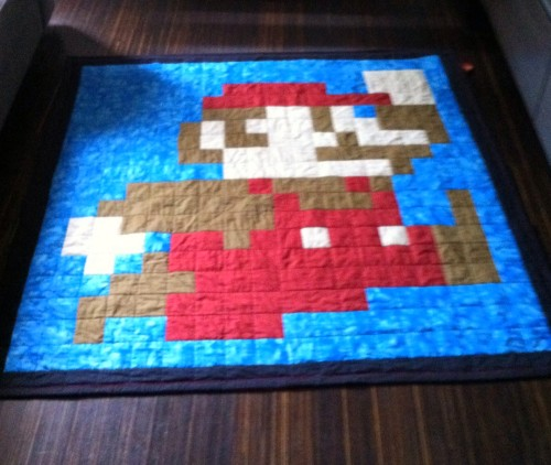 Super Mario Brother Quilt - Free Pattern