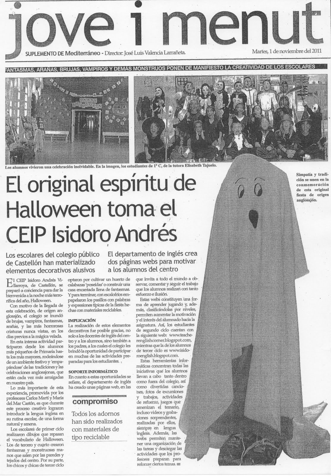 English World School In The Newspaper