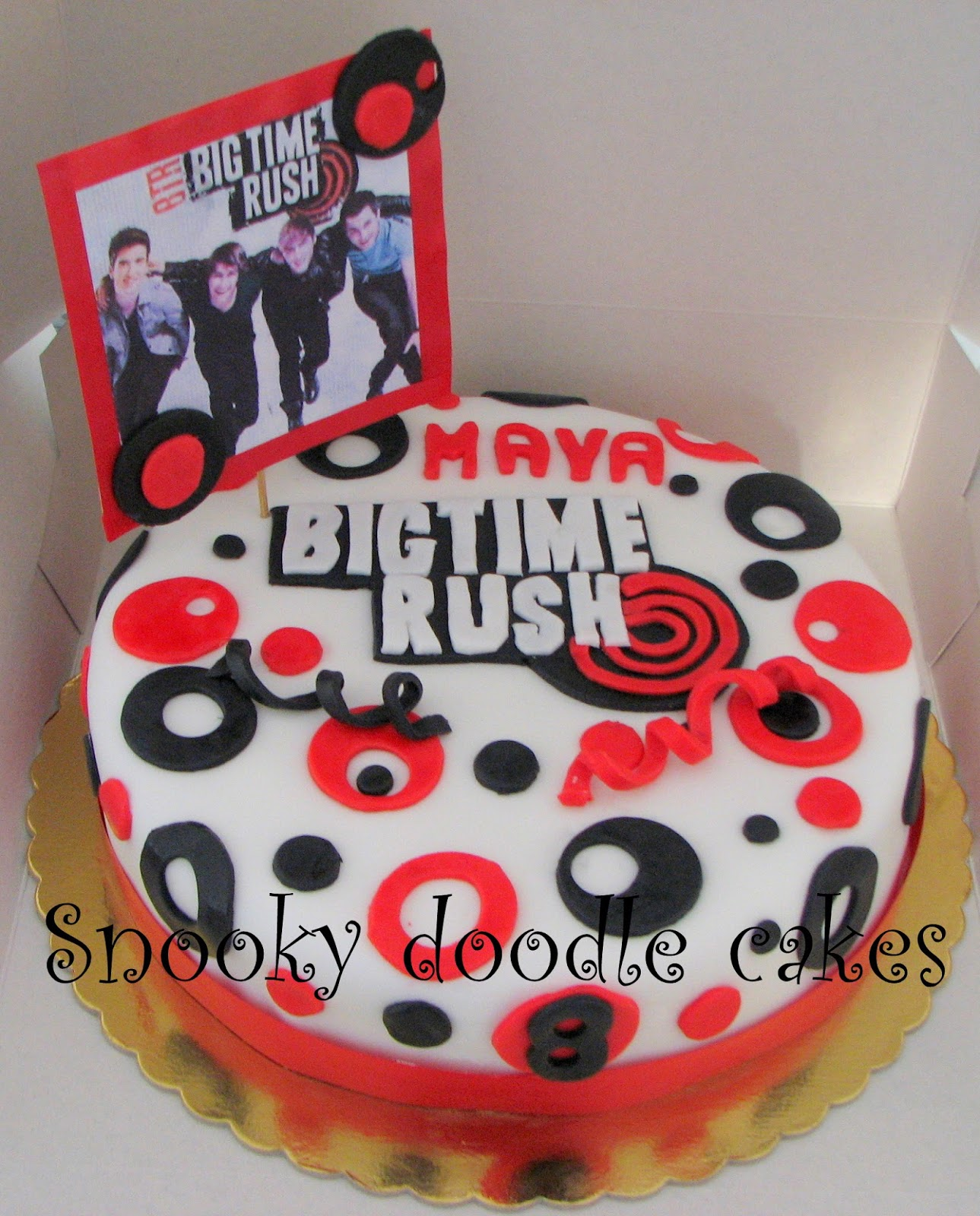 Snooky Doodle Cakes Big Time Rush Cake