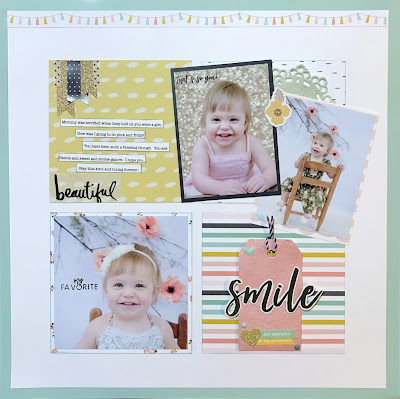 A grid layout created with the Felicity Jane Caroline Kit