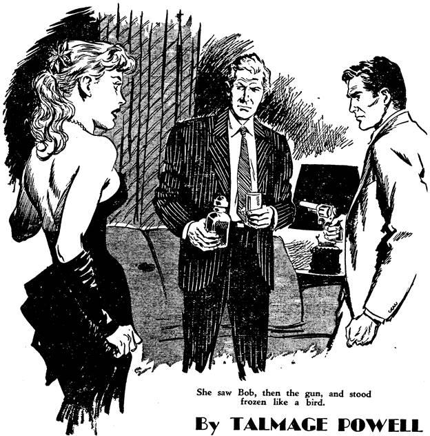 Dime Detective August 1952 - The Beautiful Miss Borgia  - Talmage Powell
