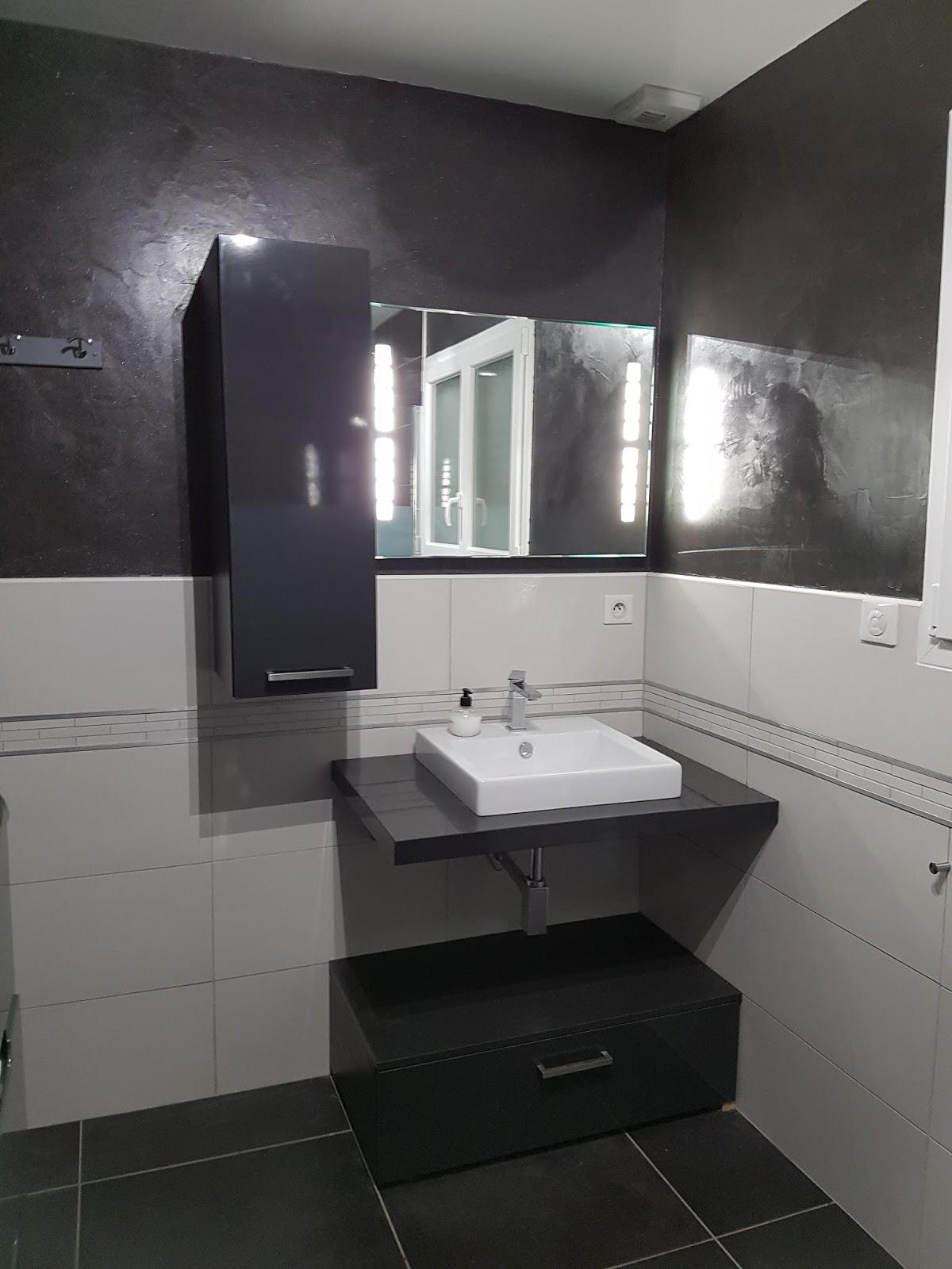 Bricolage de l 39 id e la r alisation salle de bain for Faience salle de bain 2016