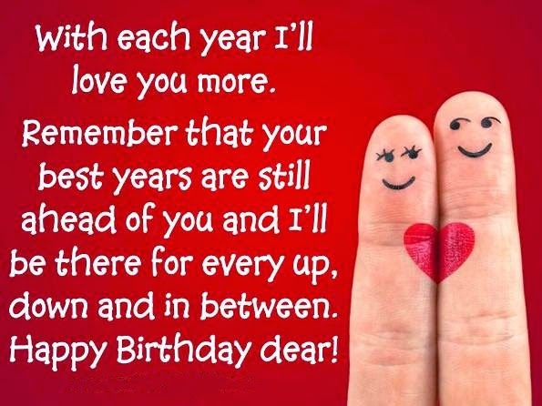 romantic birthday wishes images for wife