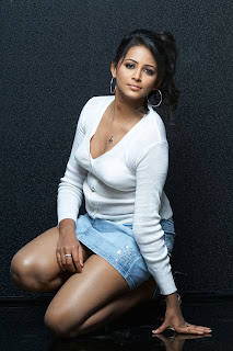 Subiksha Hot Photo in White Pic