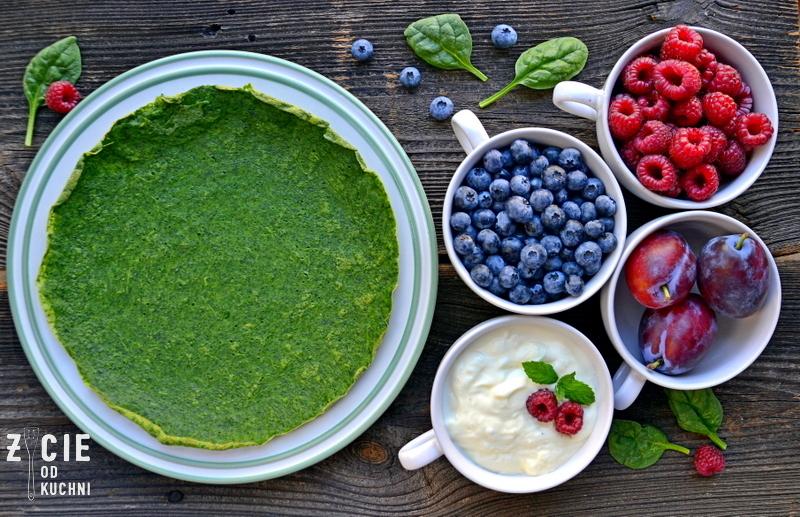 zielone nalesniki, nalesniki, nalesniki szpinakowe, poltino, szpinak, szpinak poltino, danie ze szpinakiem, przepisy ze szpinakiem, ciastoze szpinakiem, zycie od kuchni, on i ona w kuchni