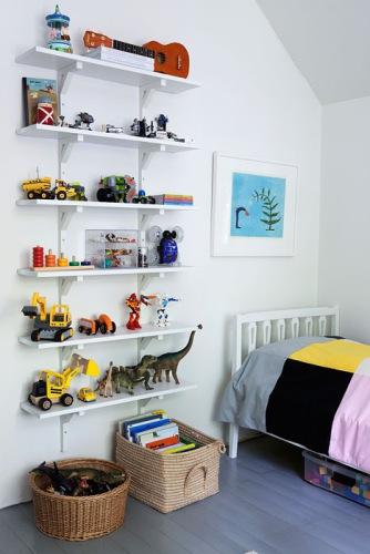 Kids Room Shelving Ideas