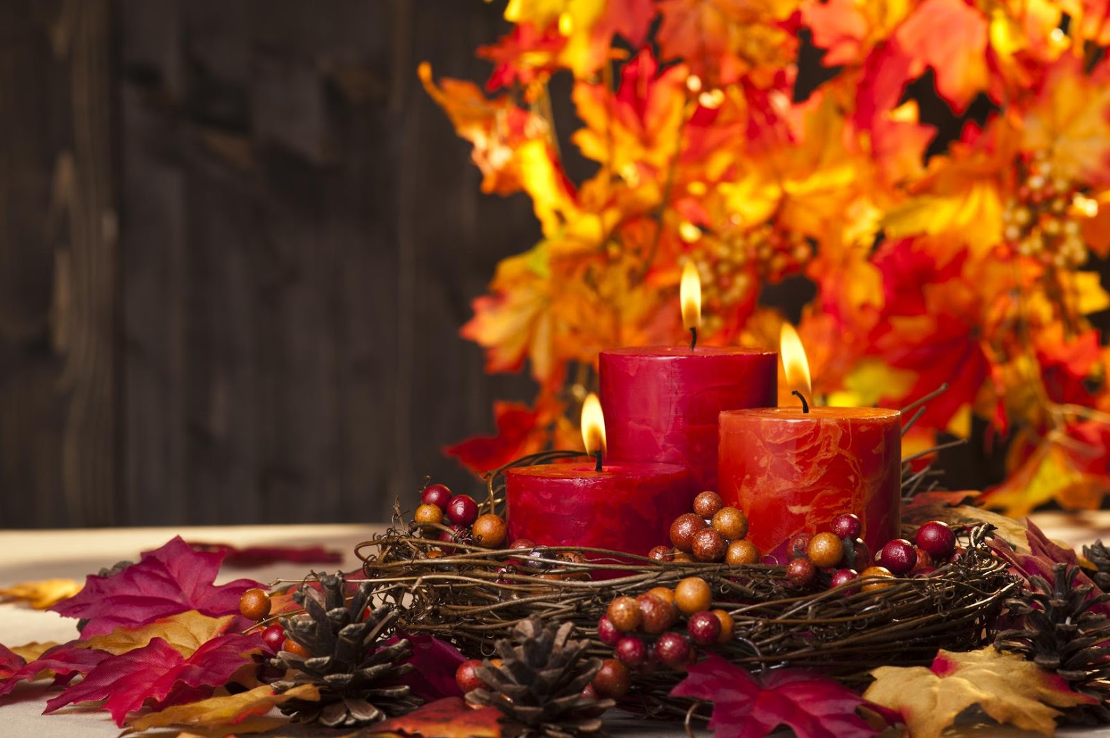 Candles images Autumn Harvest HD wallpaper and background ... |Fall Candles Background