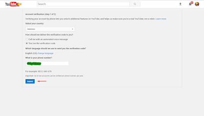 Cara Mudah Verifikasi Channel Youtube