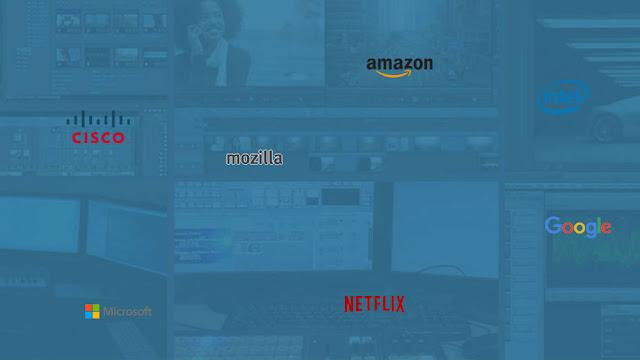 Google, Microsoft e Netflix se unem para criar novo formato de vídeo