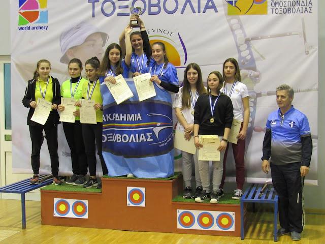 Η Ακαδημία Τοξοβολίας συμμετείχε στο Πανελλήνιο Πρωτάθλημα στο Ναύπλιο