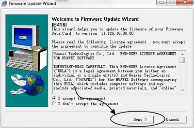 Rudy: Convert Huawei K3765 to E1762 via Firmware Update