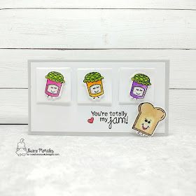 You're totally my jam by Diane features Love Bites by Newton's Nook Designs; #newtonsnook