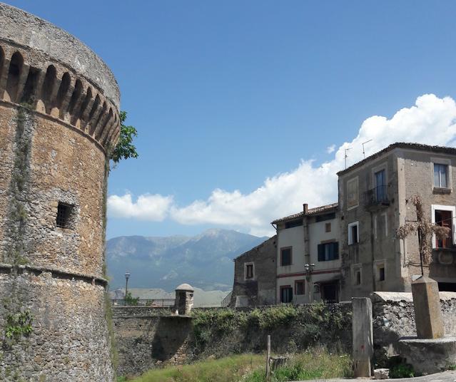 Castrovillari  torre del Castello Aragonese