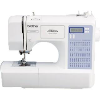 Esta es una máquina de coser Brother moderna, de tipo domestico, con distintos tipos de puntada.