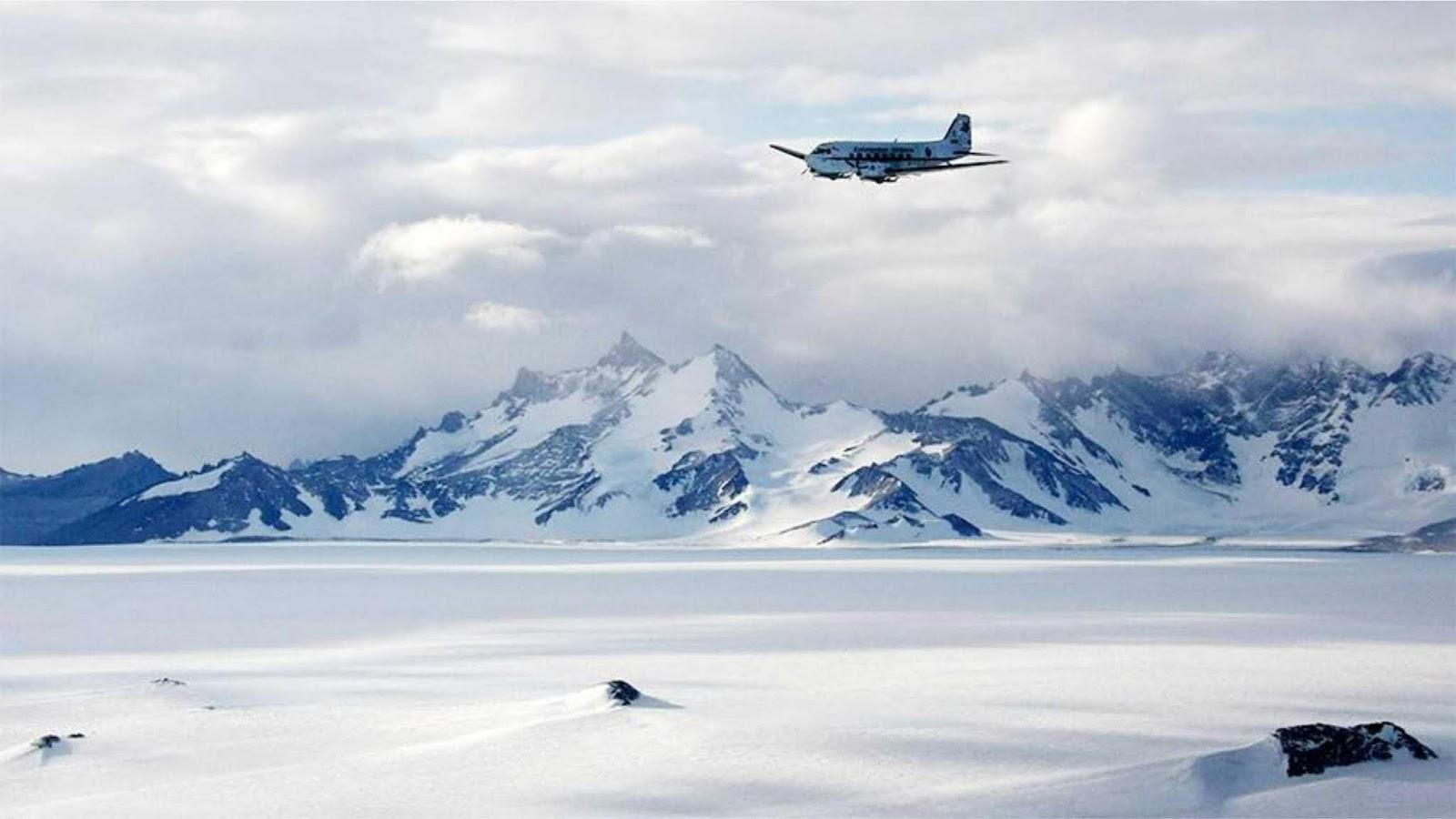 China akan membangun bandara permanen pertama di Antartika