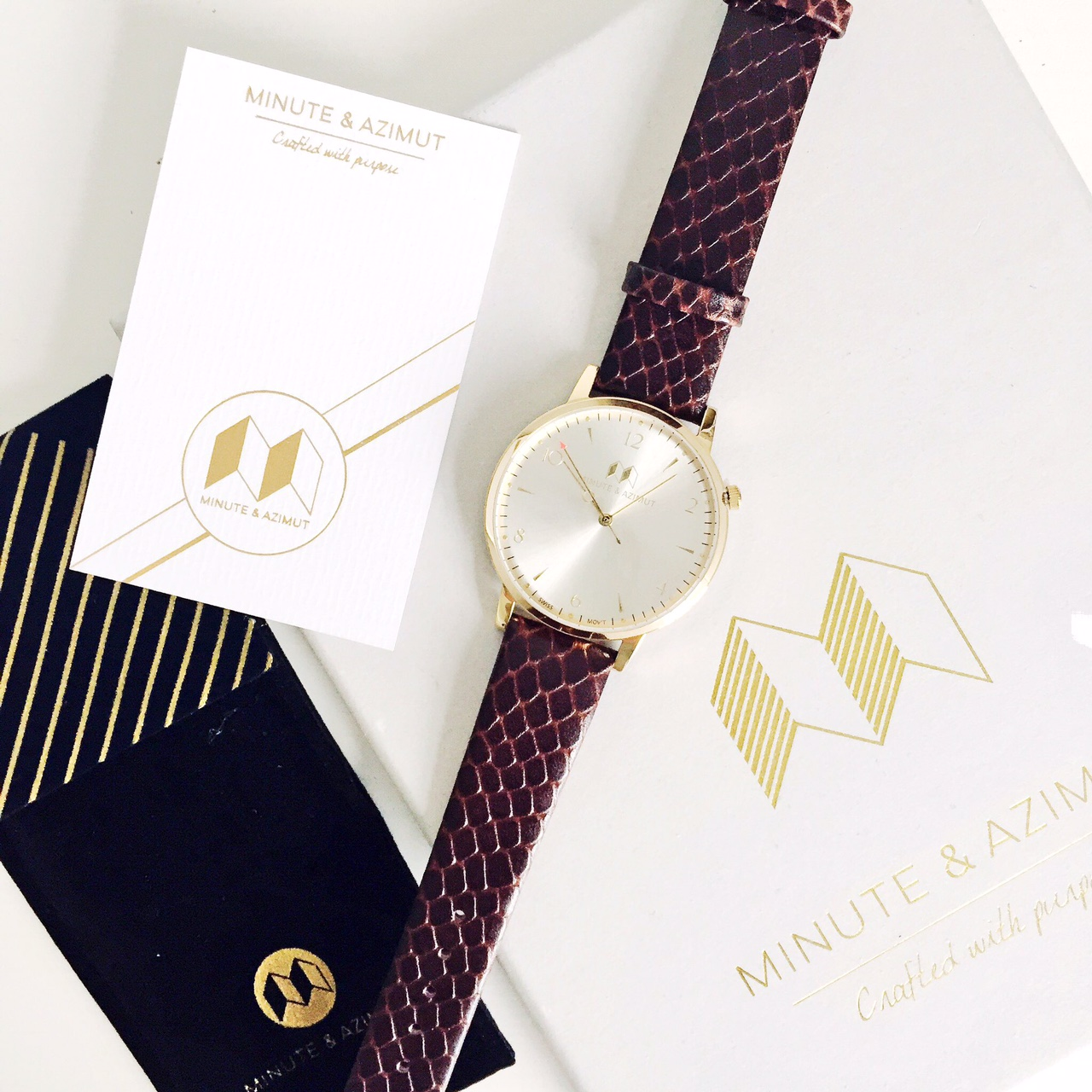 Minute and Azimut watches