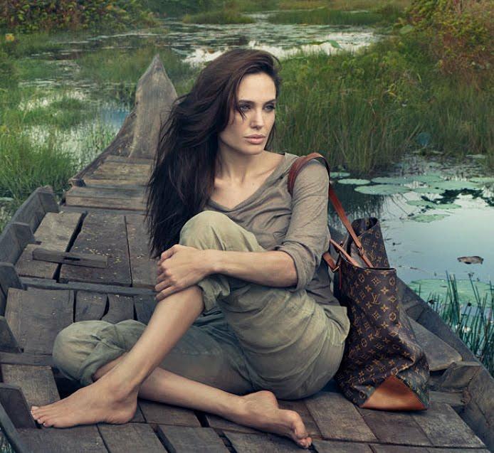 Angelina Jolie by Annie Leibovitz for Louis Vuitton