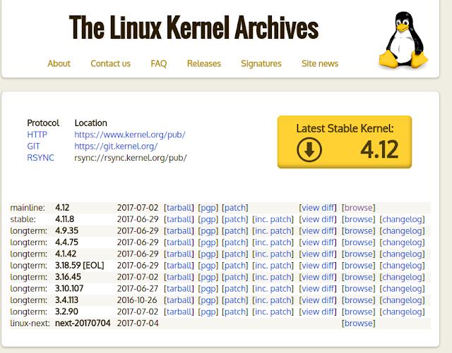 Kernel Linux Download