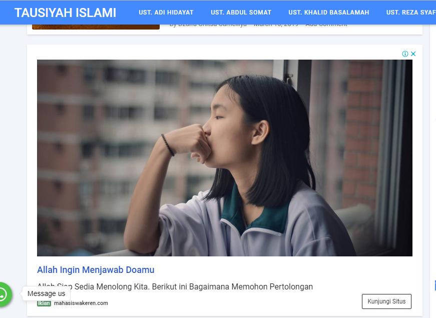 Cara Mencekal Iklan Google AdSense Yang Tidak Sesuai