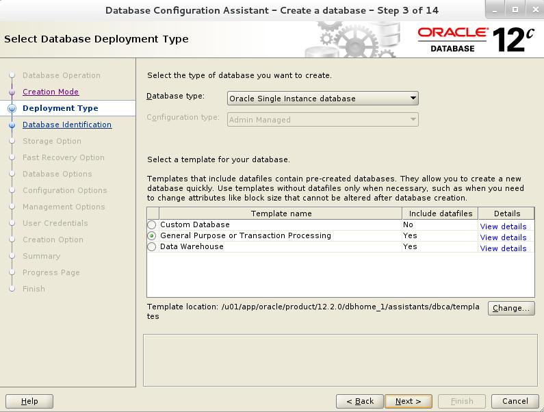 Creating Oracle Database using DBCA in 12c R2 | OracleNext