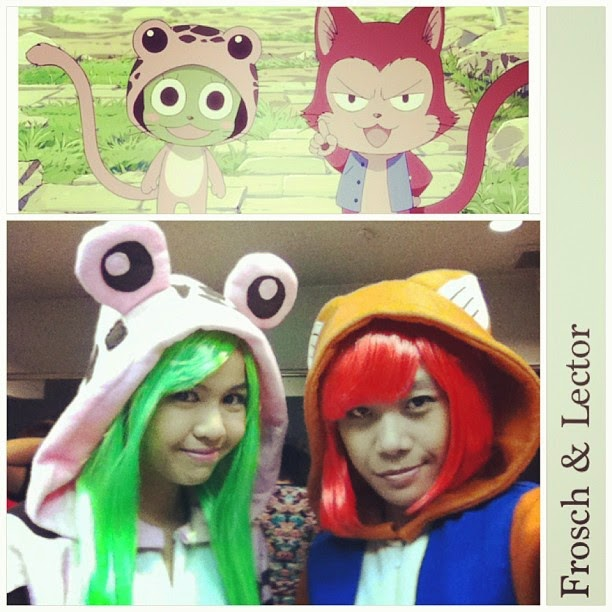 49293fc35d51 Jun and Kei as Frosch and Lector from Fairy Tail