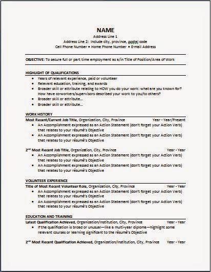 Certified Nursing Assistants Blog 3 Different Resume Types For