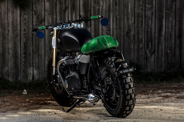 Triumph By Hedonic Hell Kustom