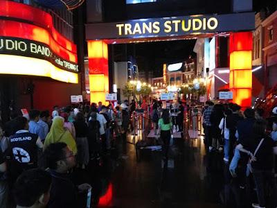 Harga Tiket Wahana Trans Studio Bandung