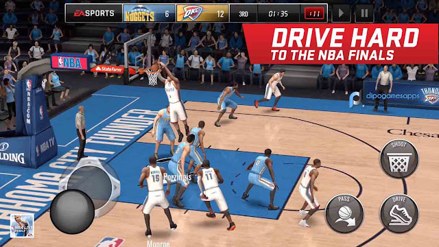 Download NBA Live Mobile MOD APK Unlimited Money/Coins News Updated