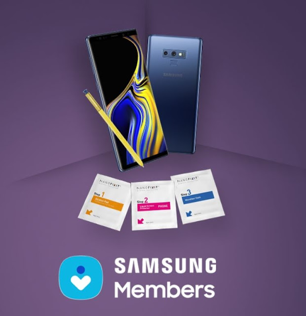 Free Nanofixit Liquid Screen Protector for Samsung Phones